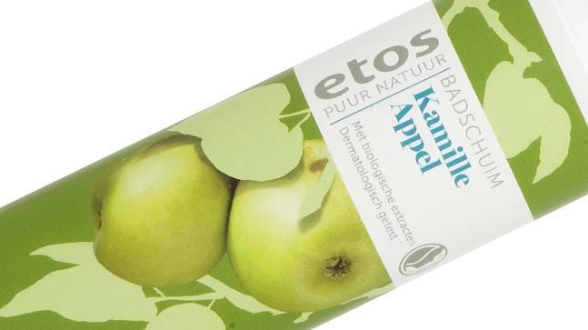 Etos Puur Natuur Badschuim - 200 ml. € 4.99