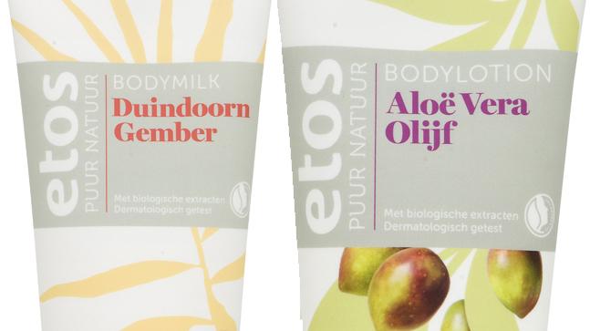 Etos Puur Natuur Bodymilk & Bodylotion - 200 ml. € 6.49 p/s