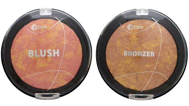 Etos Blush & Etos Bronzer - € 4.99 p/s