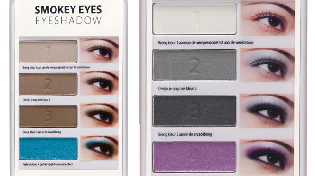 Etos Smokey Eyes Eyeshadow, verkrijgbaar in twee varianten - € 4.99 p/s