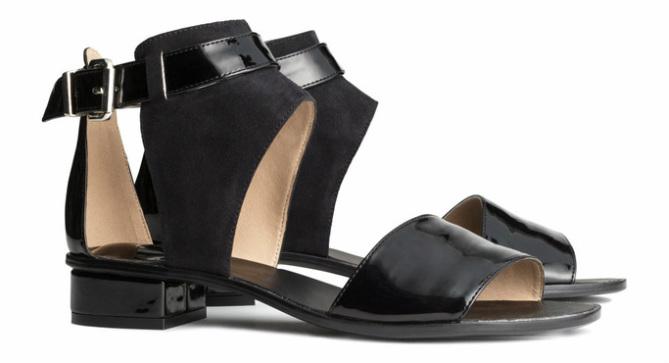 Sandalen, zwart - € 29.95