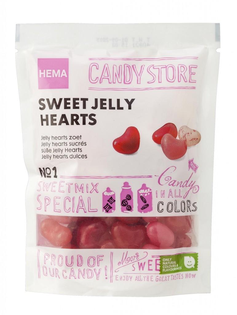 Hema Sweet Jelly Hearts €1,25