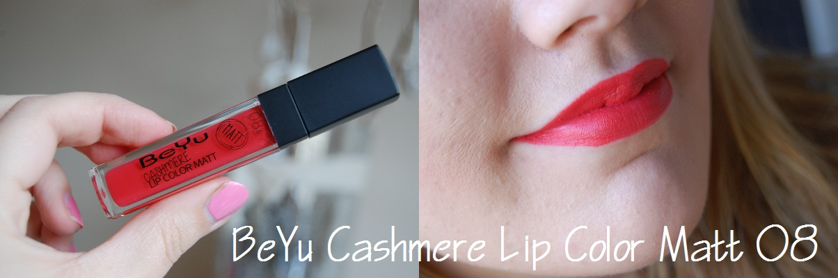 BeYu Cashmere Lip Color Matt 08