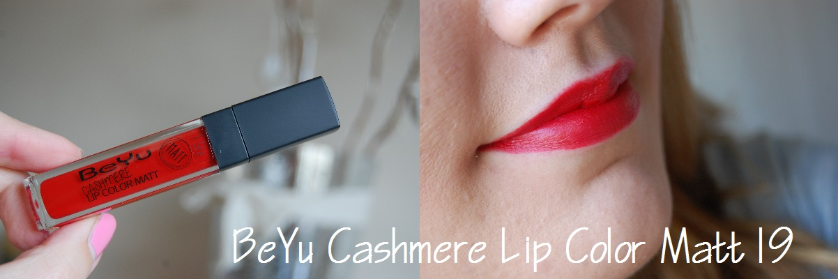 BeYu Cashmere Lip Color Matt 19