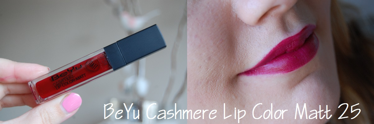 BeYu Cashmere Lip Color Matt 25