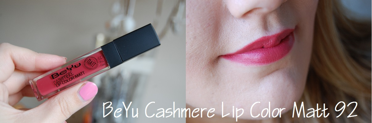 BeYu Cashmere Lip Color Matt 92