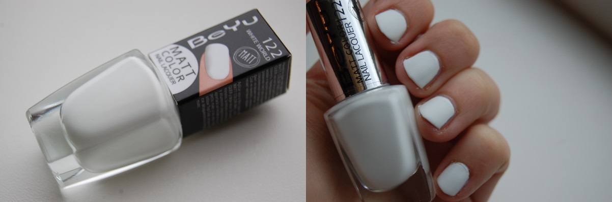 BeYu Matt Color Nail Lacquer 122