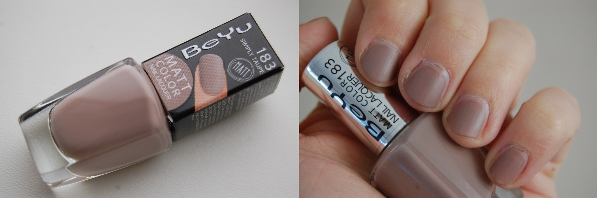 BeYu Matt Color Nail Lacquer 183