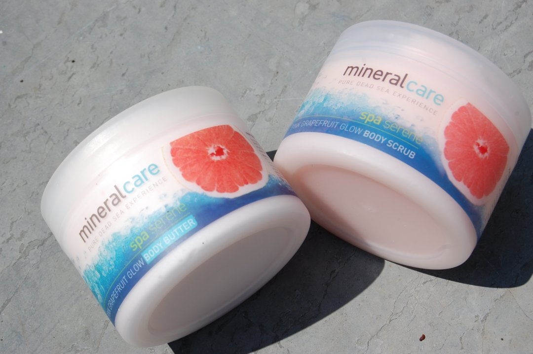 Mineral Care Spa Serene Pink Grapefruit Glow