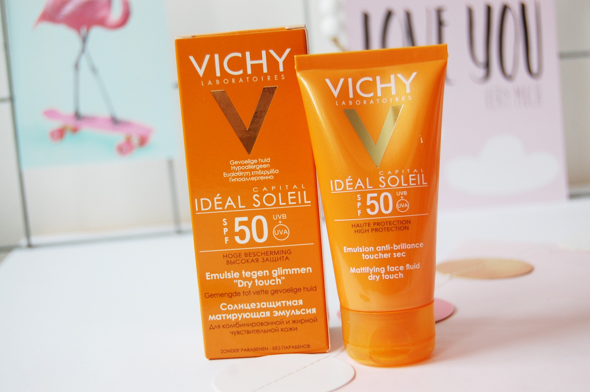 Vichy Ideal Soleil dry touch spf50
