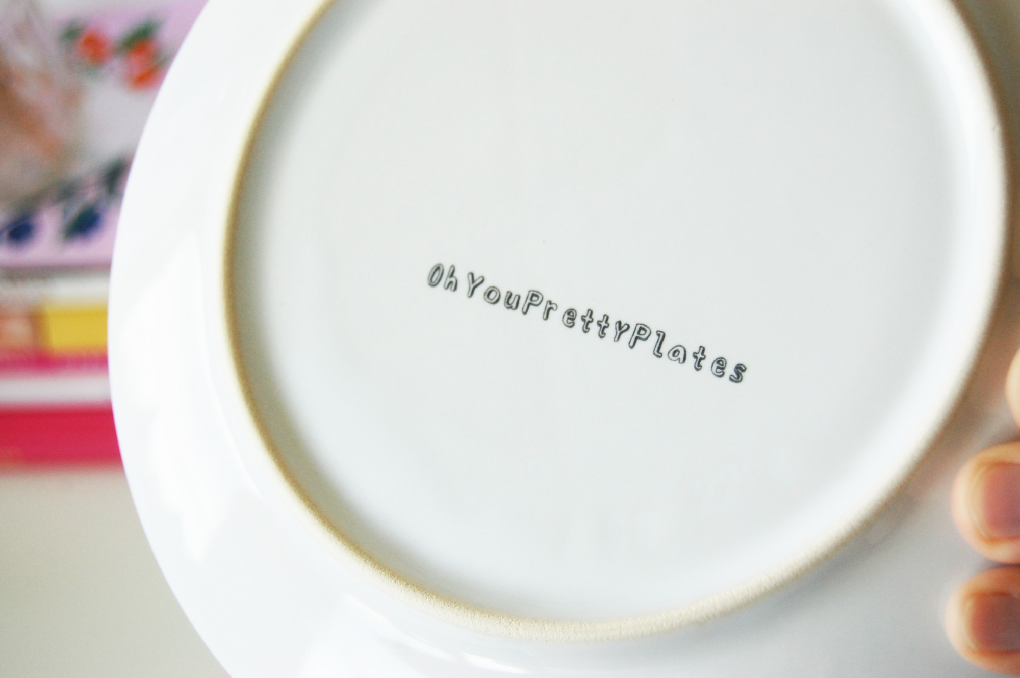 Oh You Pretty Plates