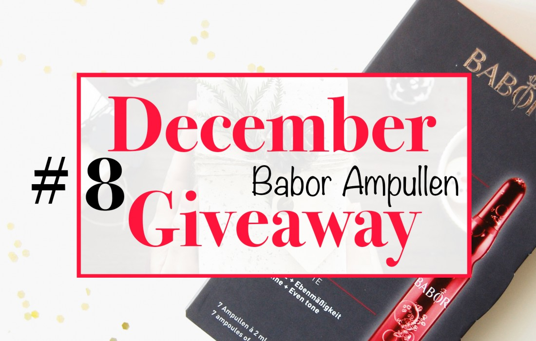 December Giveaway 8