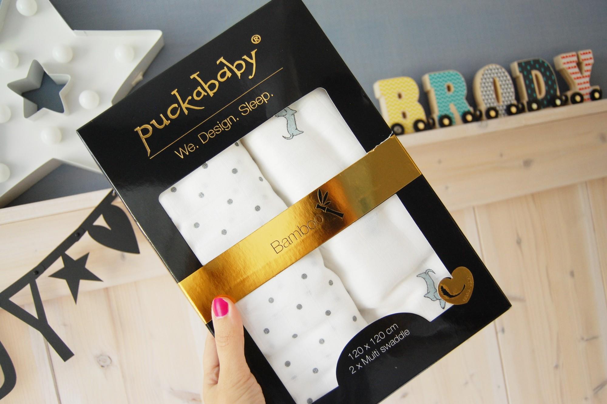 Puckababy 2-Pack Bamboo Swaddles