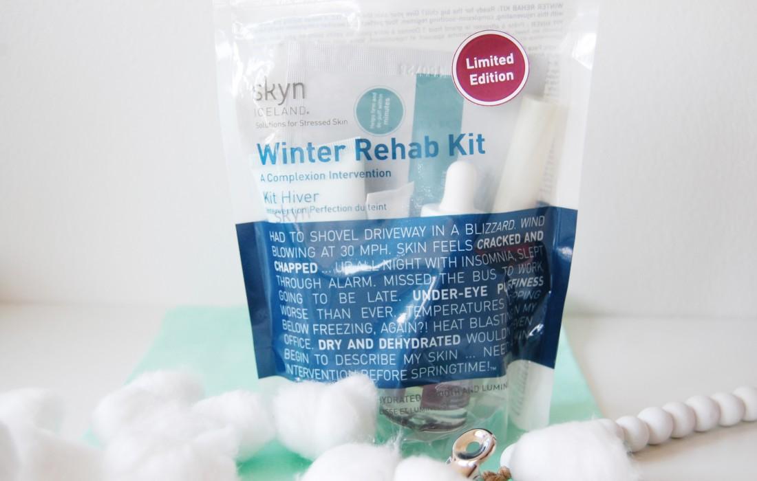 Skyn Iceland Winter Rehab Kit
