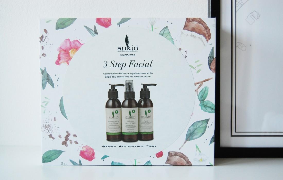 Sukin Signature 3 Step Facial