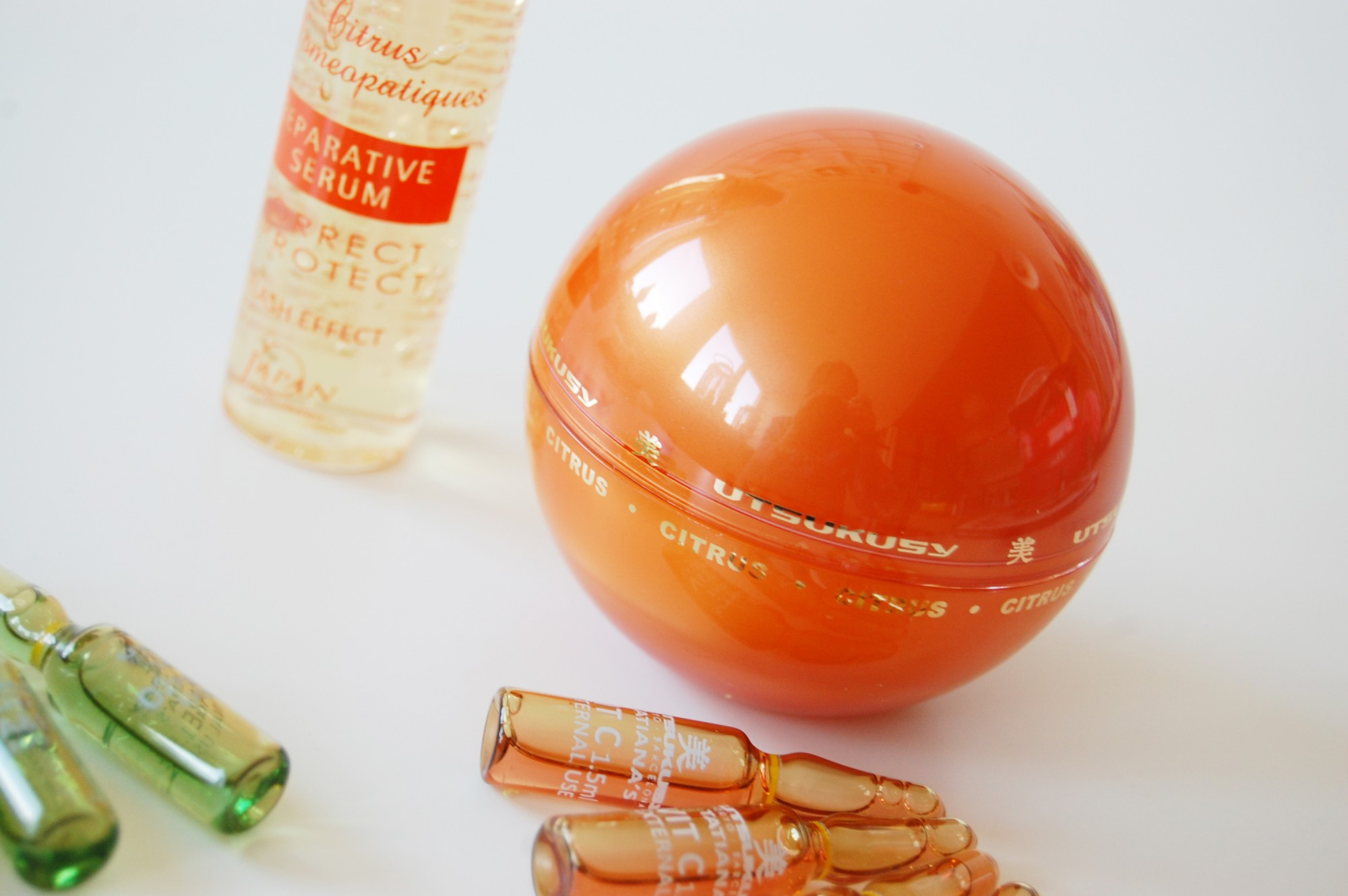 Utsukusy Citrus Homeopathiques beauty box