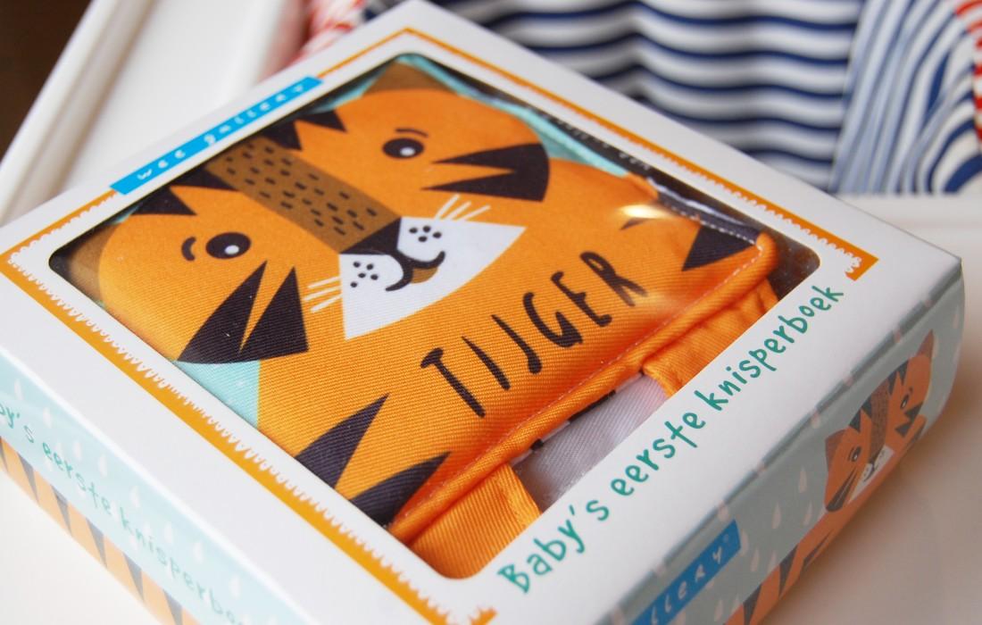 Baby's eerste knisperboek Tijger