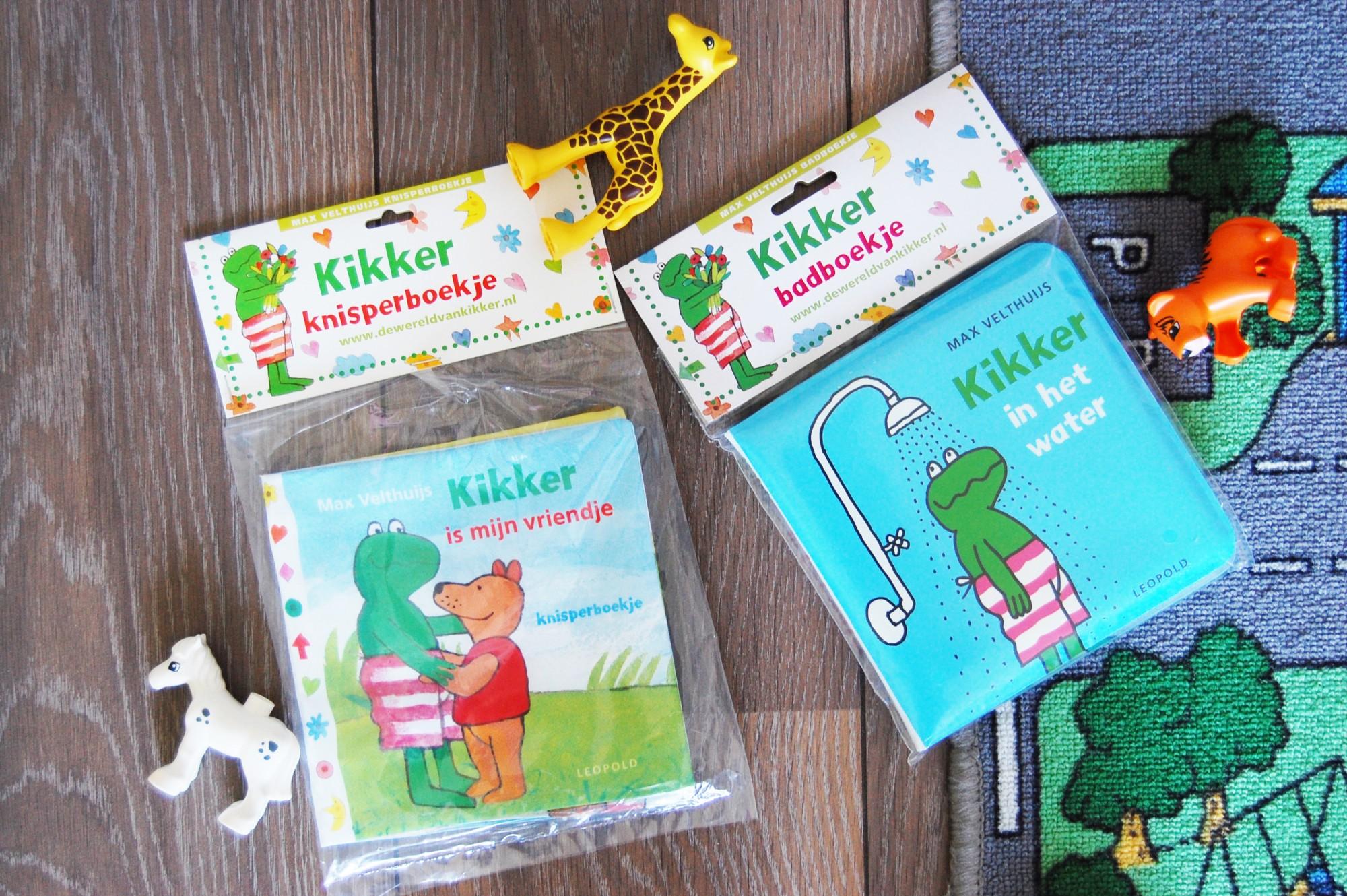 Kikker babyboekjes