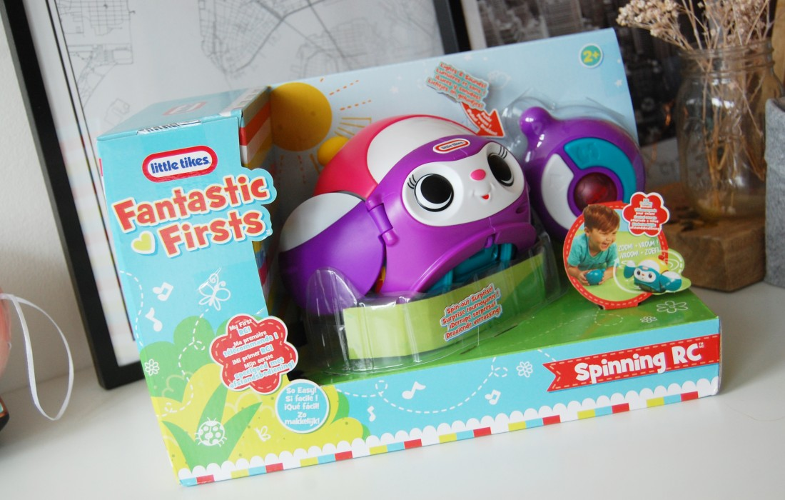 Little Tikes Fantastic Firsts Spinning RC