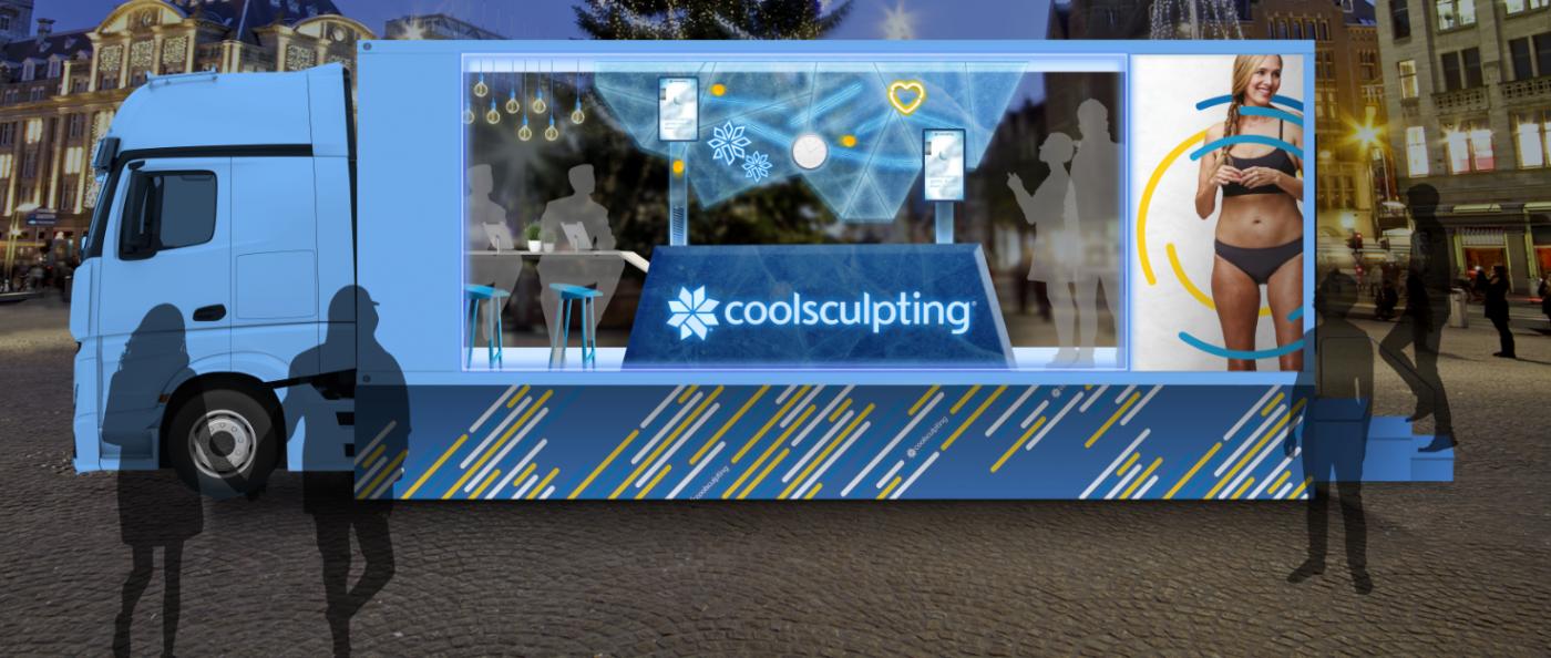 Coolsculpting truck