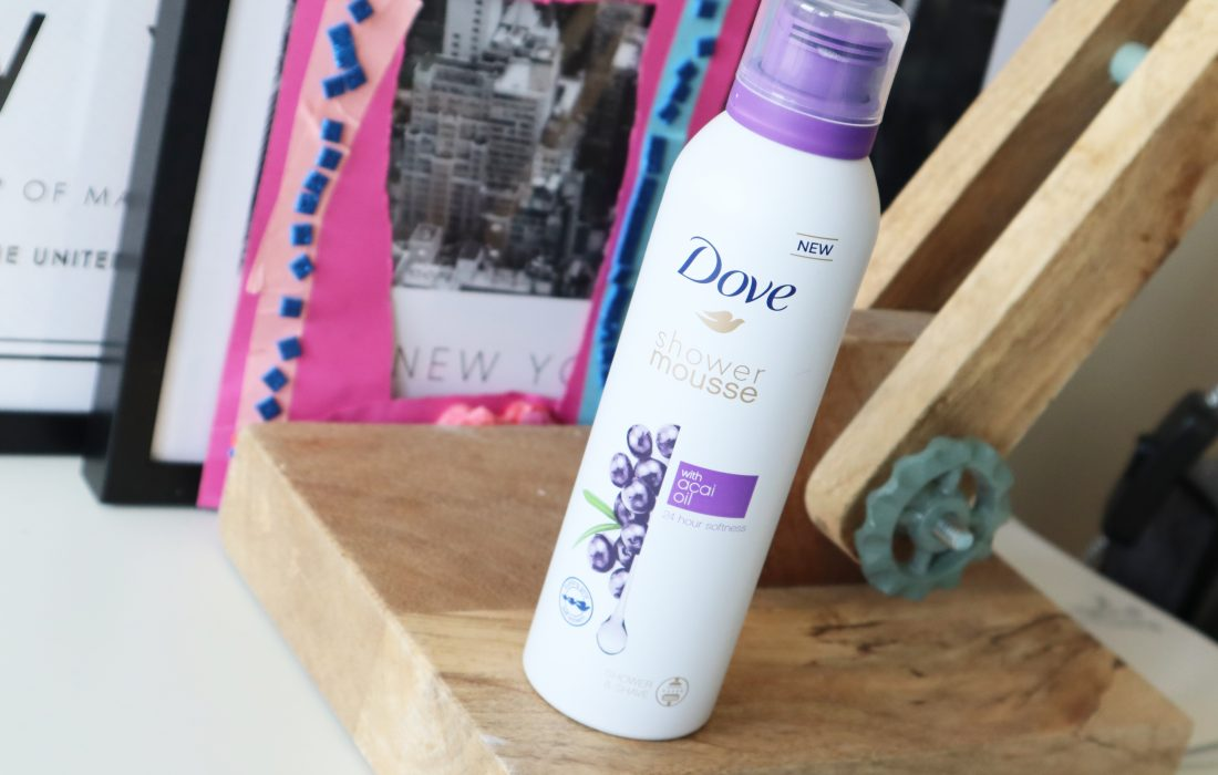 Dove Shower Mousse with Acai Oil