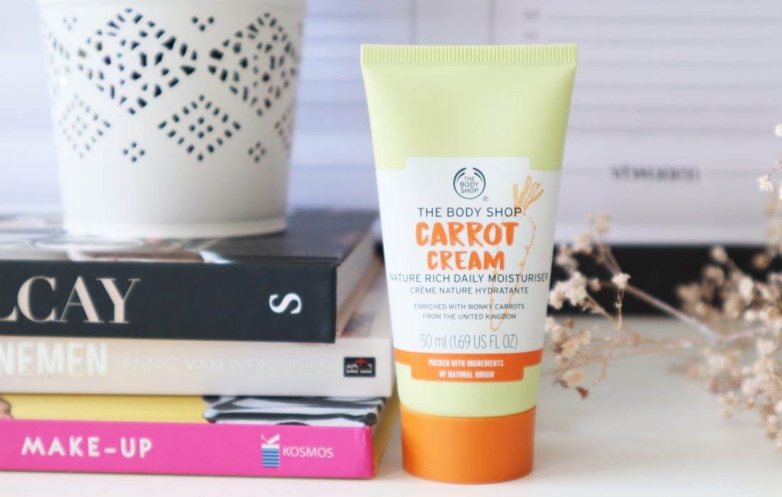The Body Shop Carrot Cream Nature Rich Daily Moisturiser