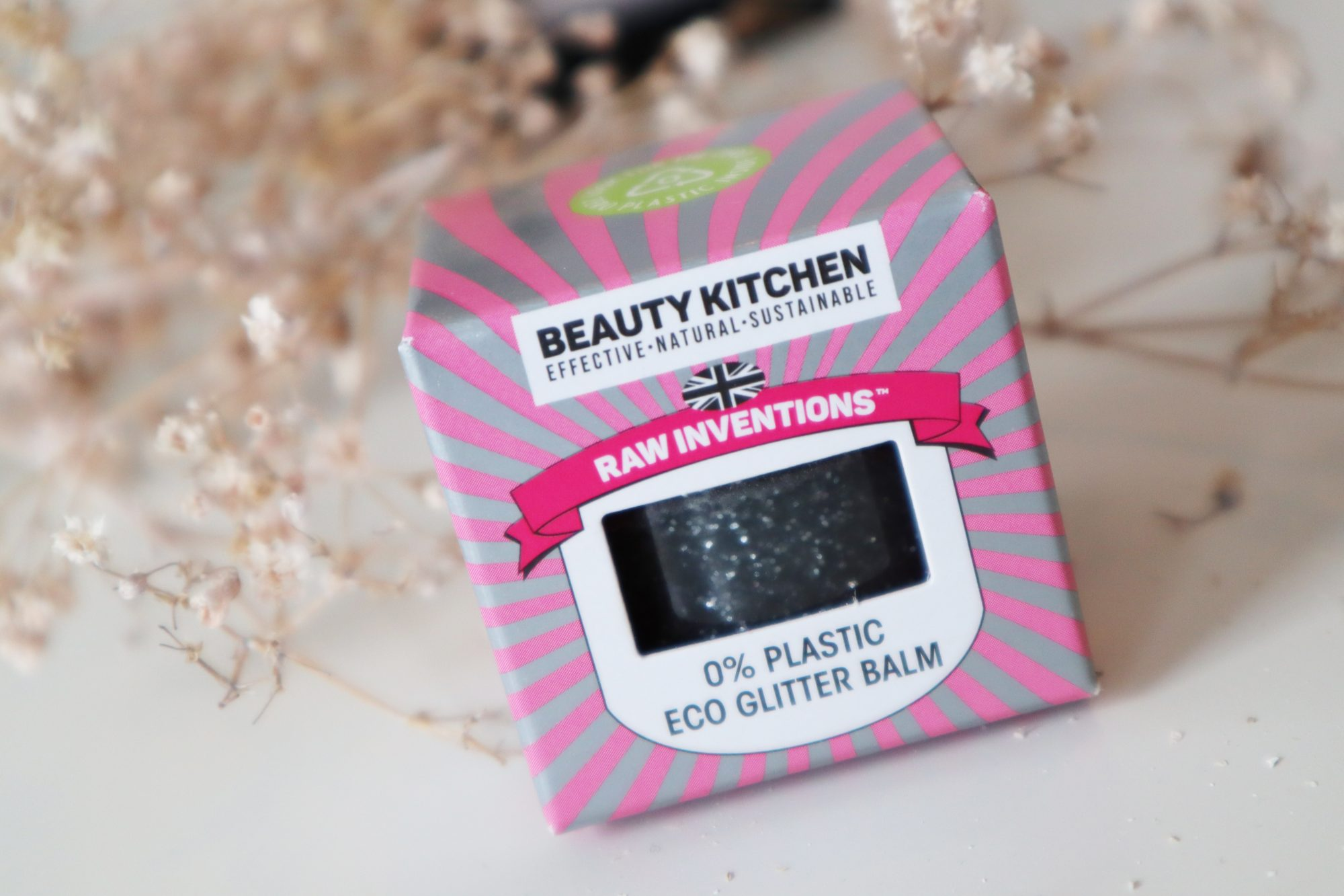 Beauty Kitchen 0% Plastic Eco Glitter Balm