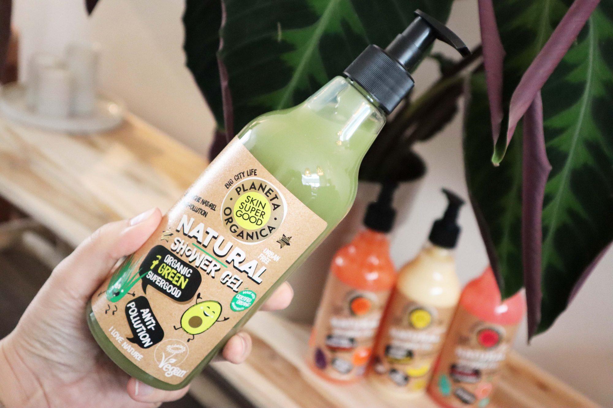 Planeta Organica Skin Super Good Natural Showergels