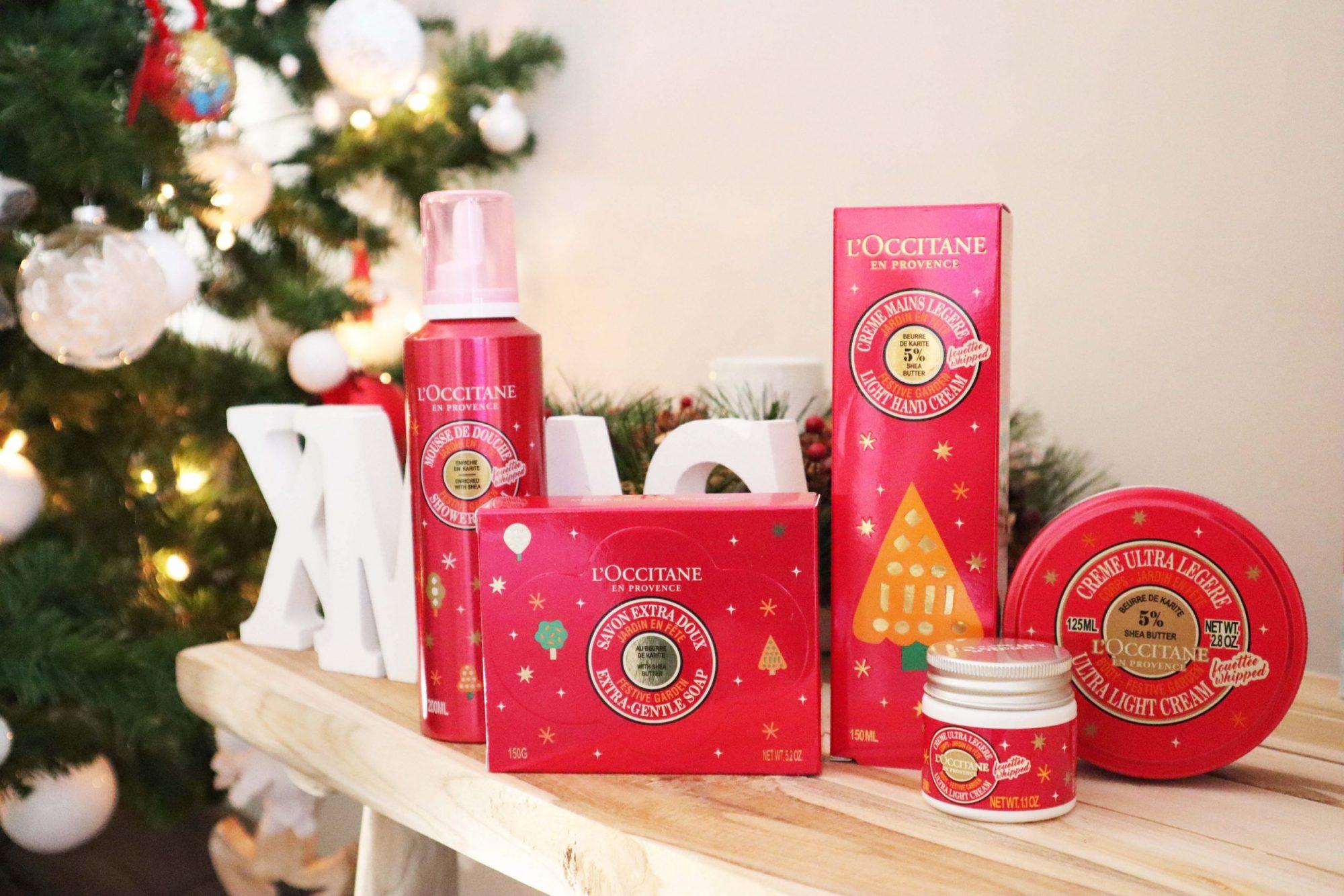 L'Occitane Kerstcollectie Festive Garden