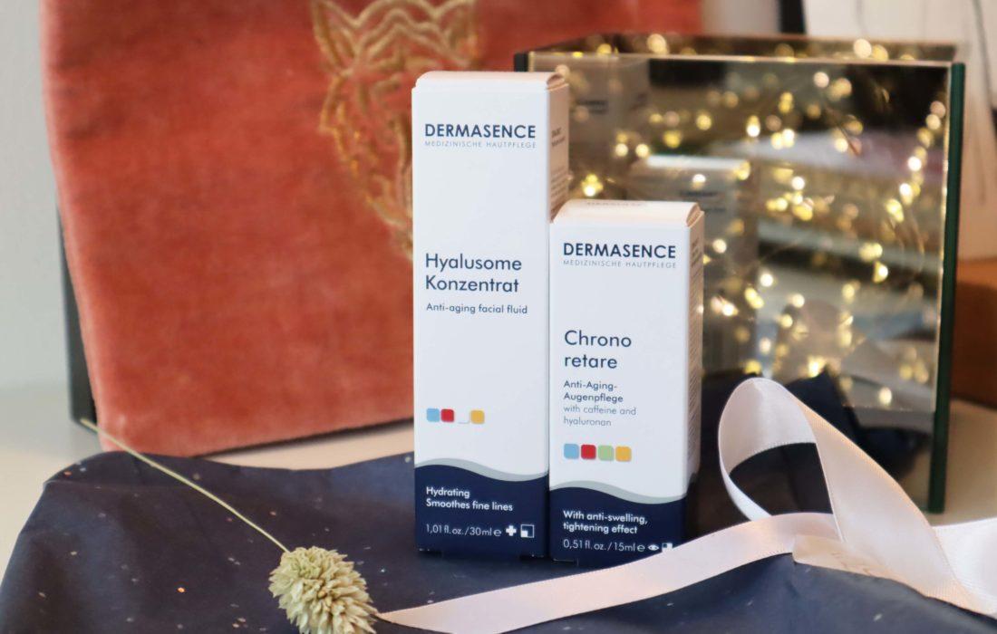 Dermasence Hyalusome Concentraat en Chrono Retare