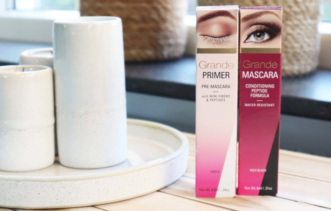 Grande Cosmetics Primer en Mascara
