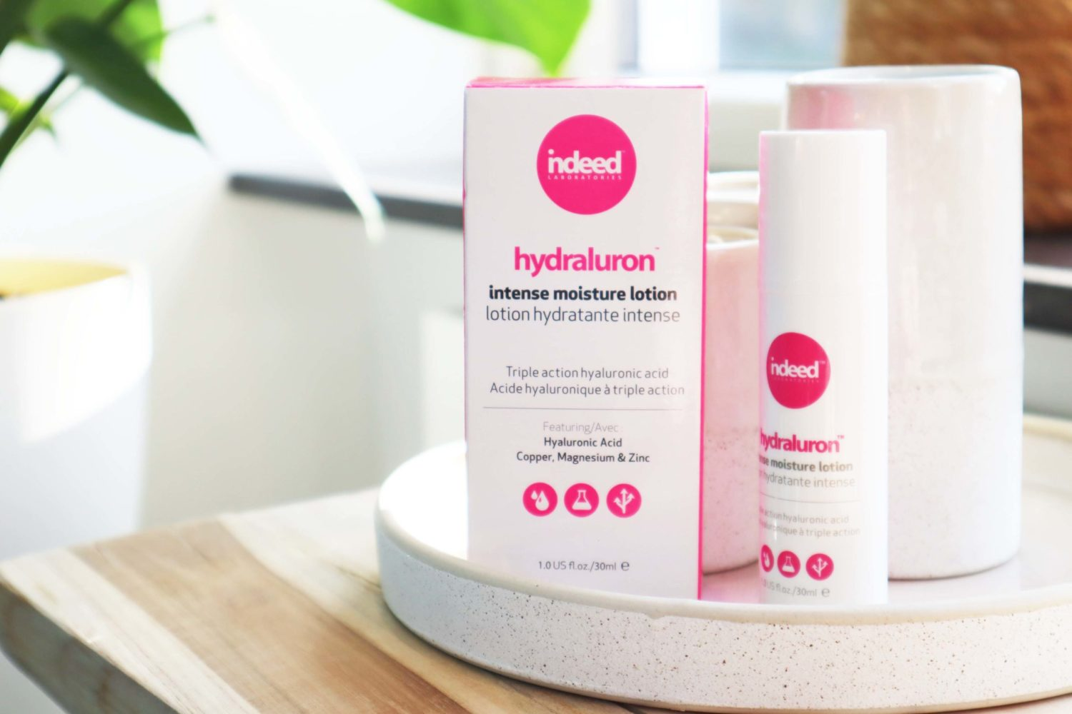 indeed Hydraluron Intense Moisture Lotion