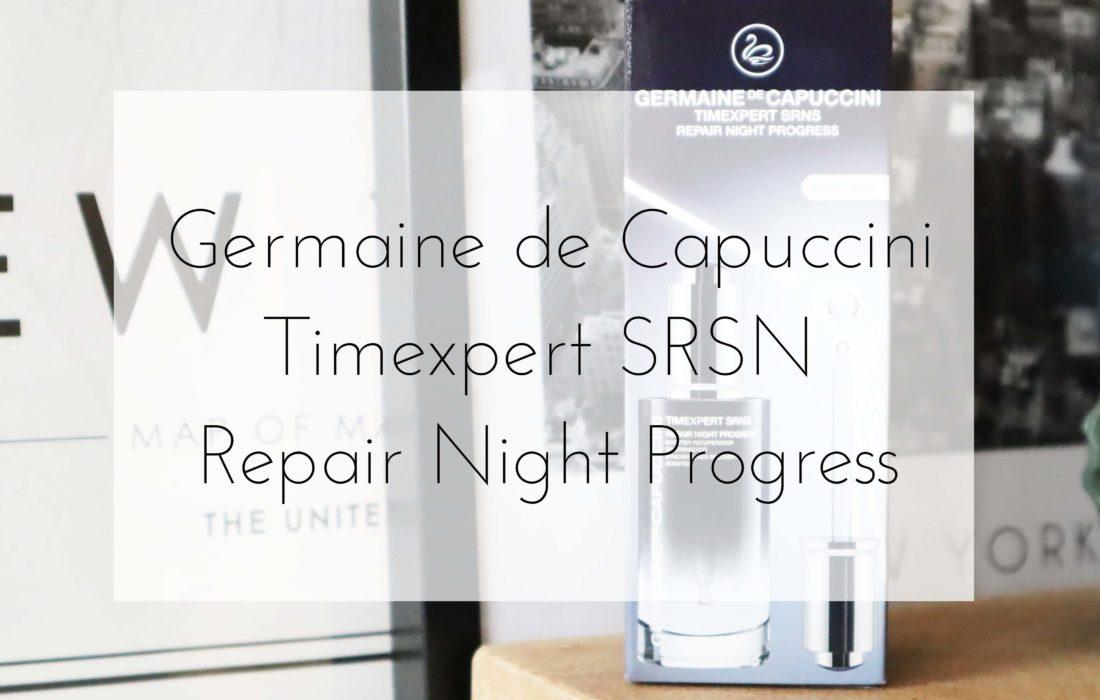 Germaine de Capuccini Timexpert SRNS Repair Night Progress