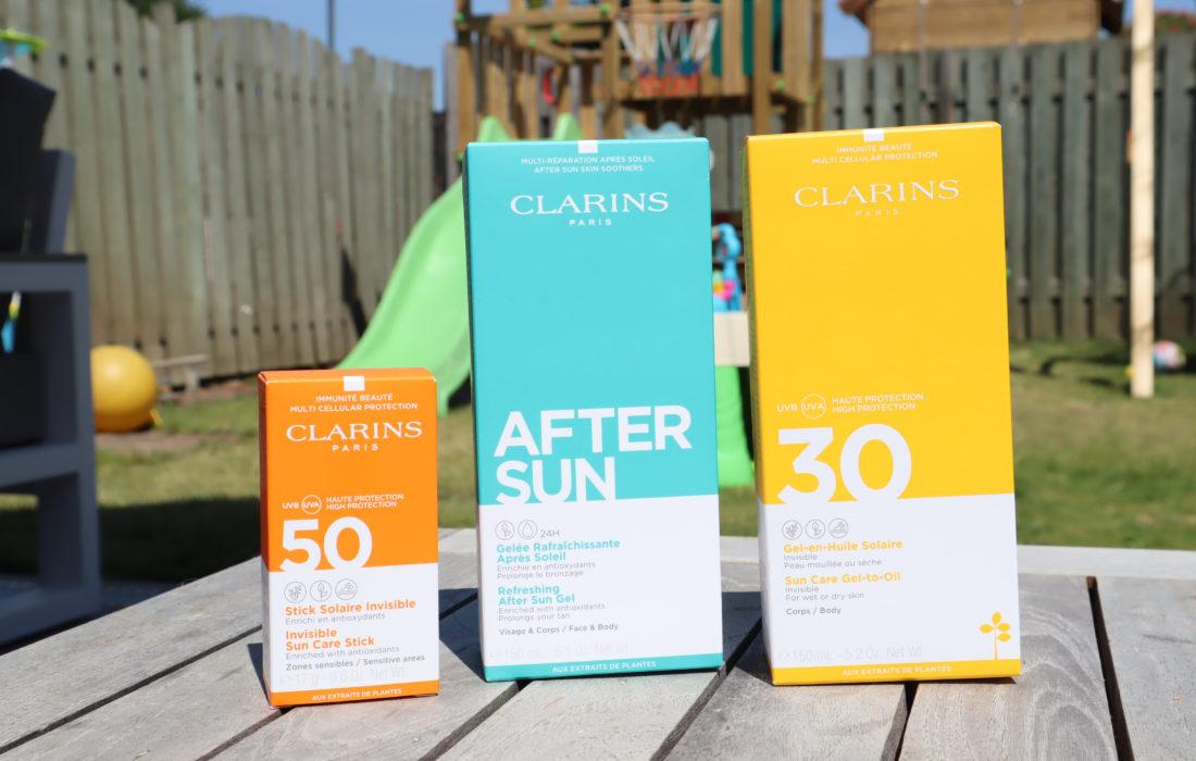 Clarins zonbescherming
