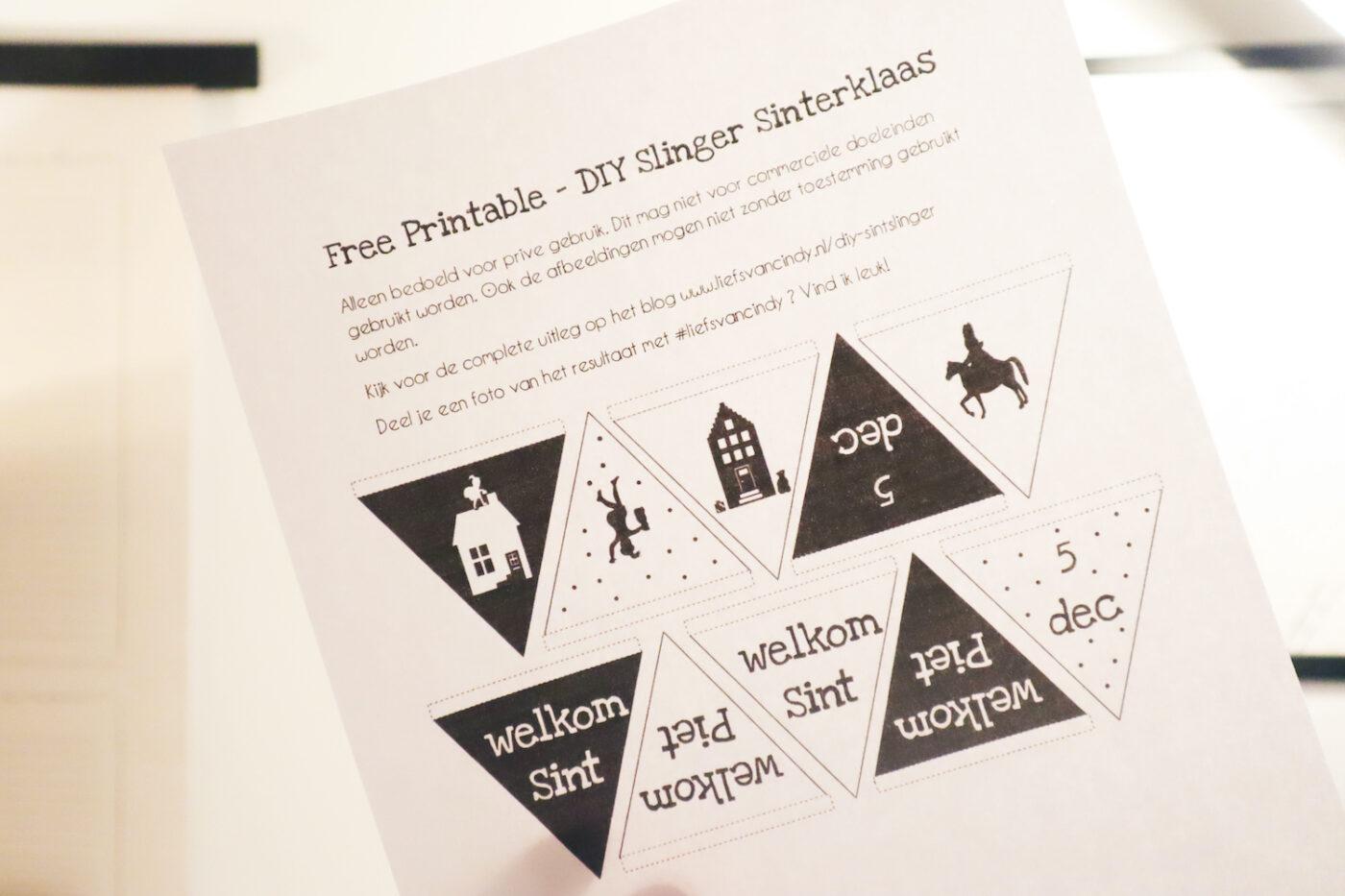 Sinterklaas Printables