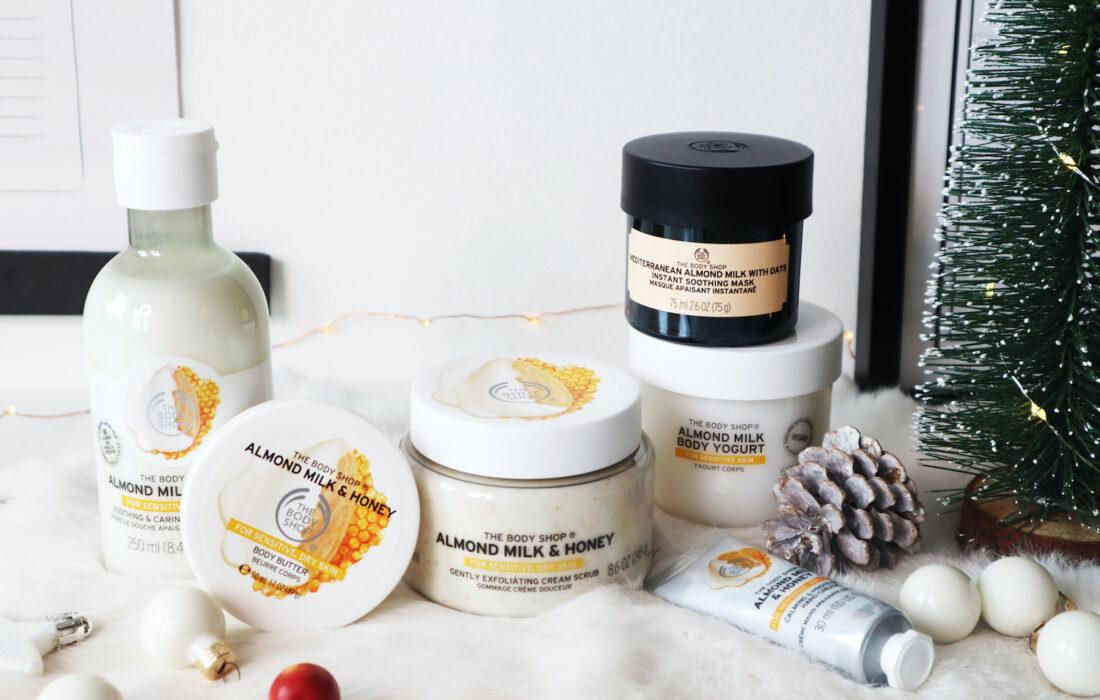 The Body Shop Almond Milk & Honey giftset