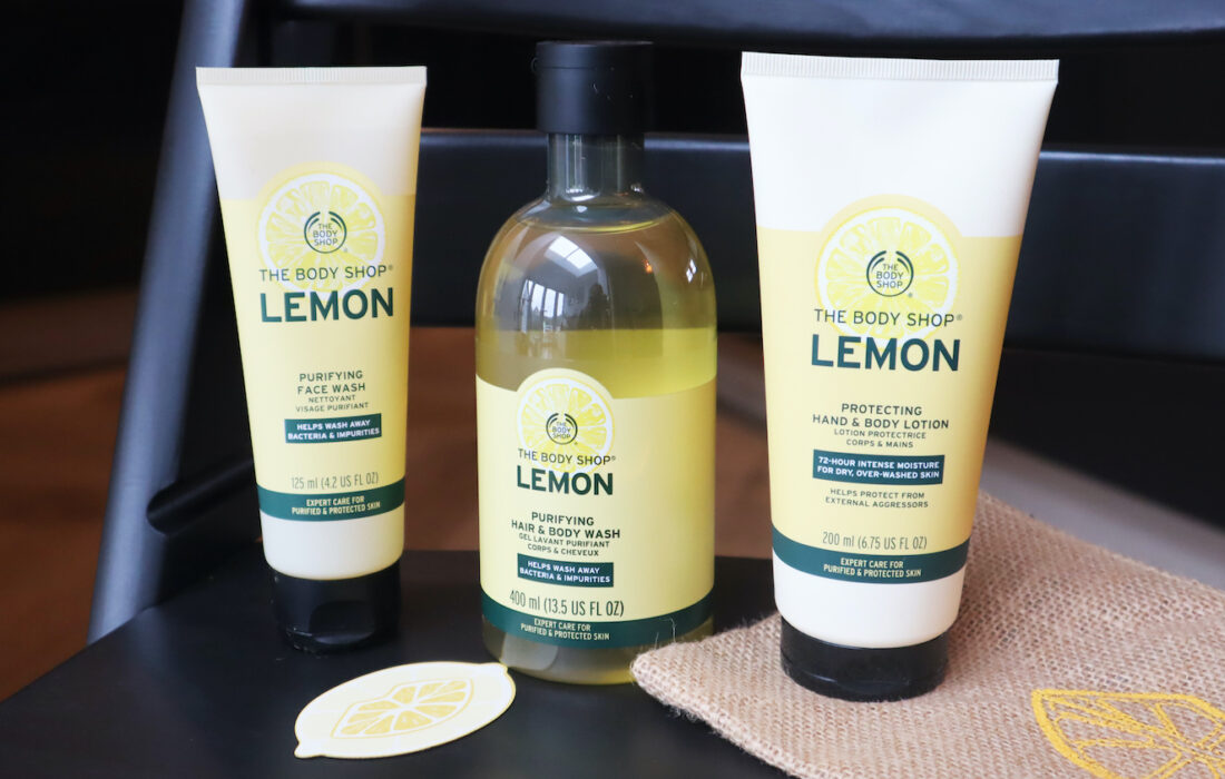 The Body Shop Lemon