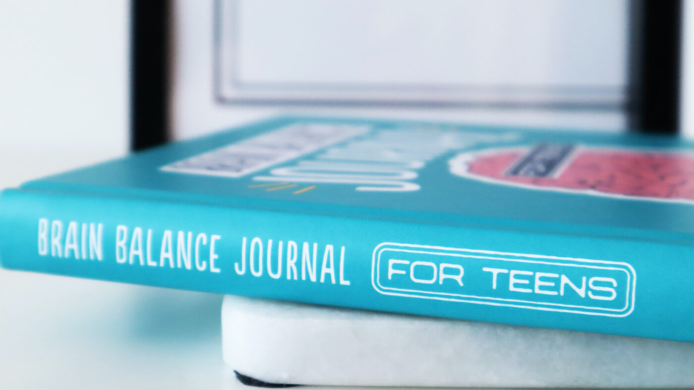 Brain Balance Journal for teens