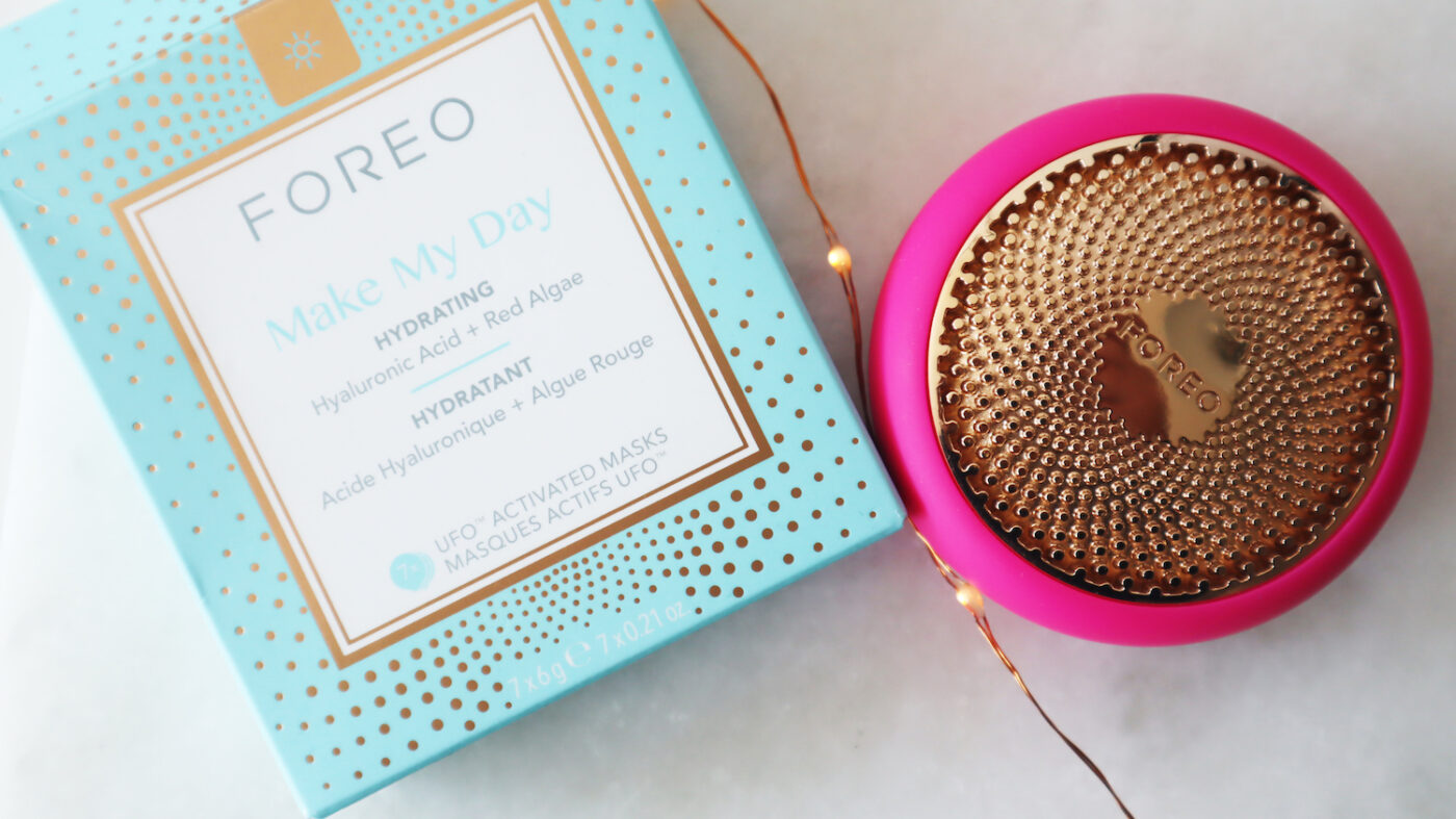 FOREO UFO maskers