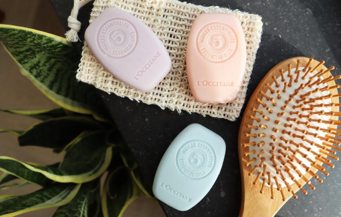 L'Occitane vegan Solid Shampoos