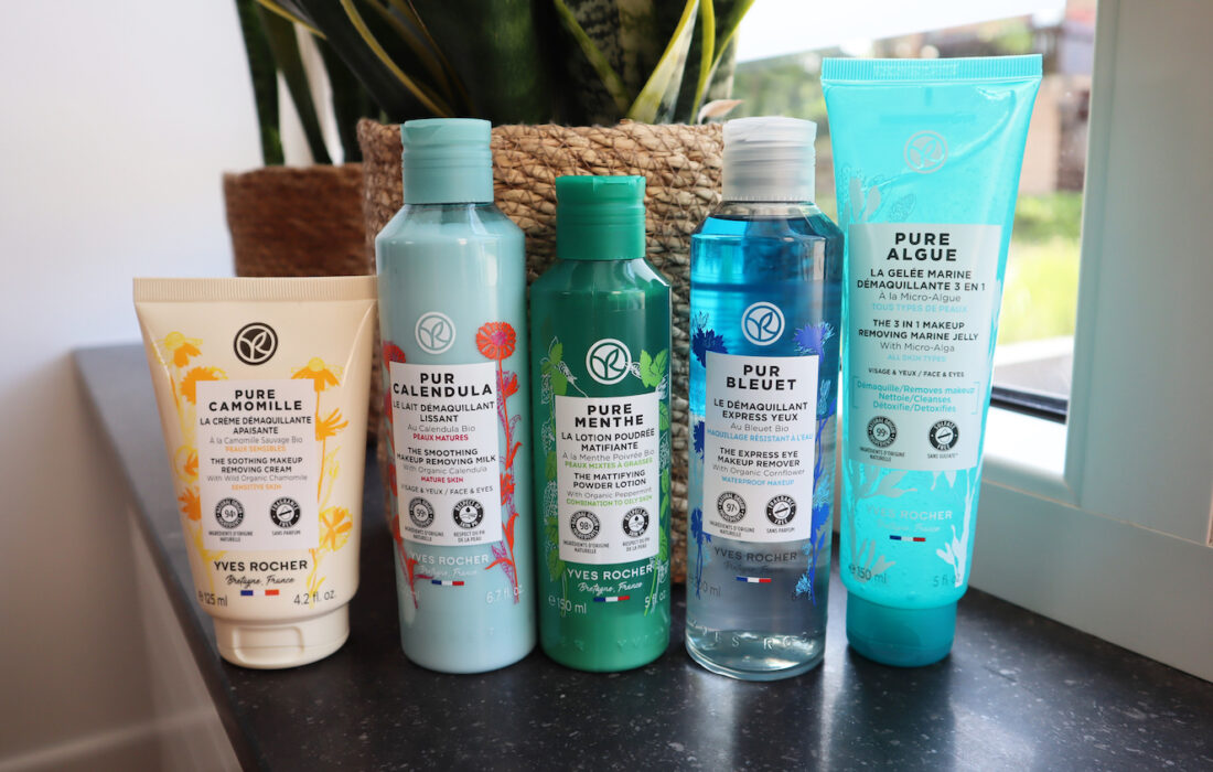 Yves Rocher cleansers
