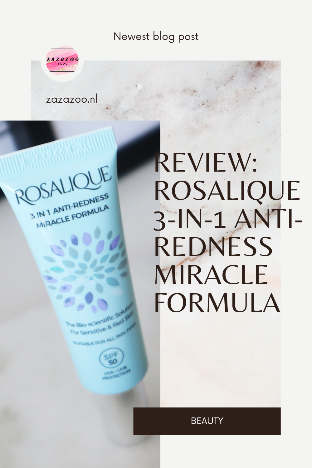Rosalique 3-in-1 anti-redness miracle formula