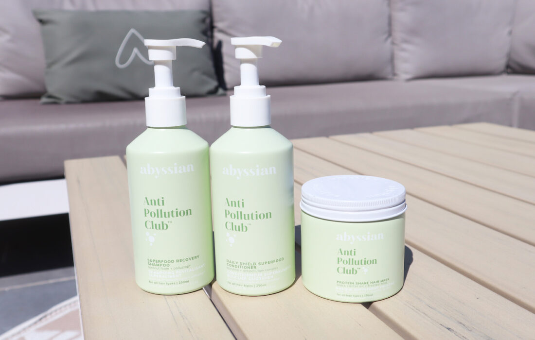 Abyssian Anti Pollution Club haircare