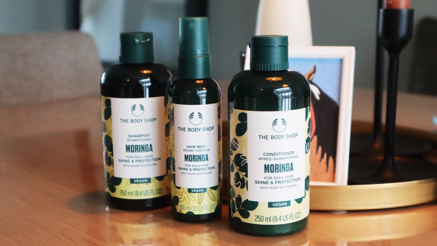 The Body Shop vegan hair care
