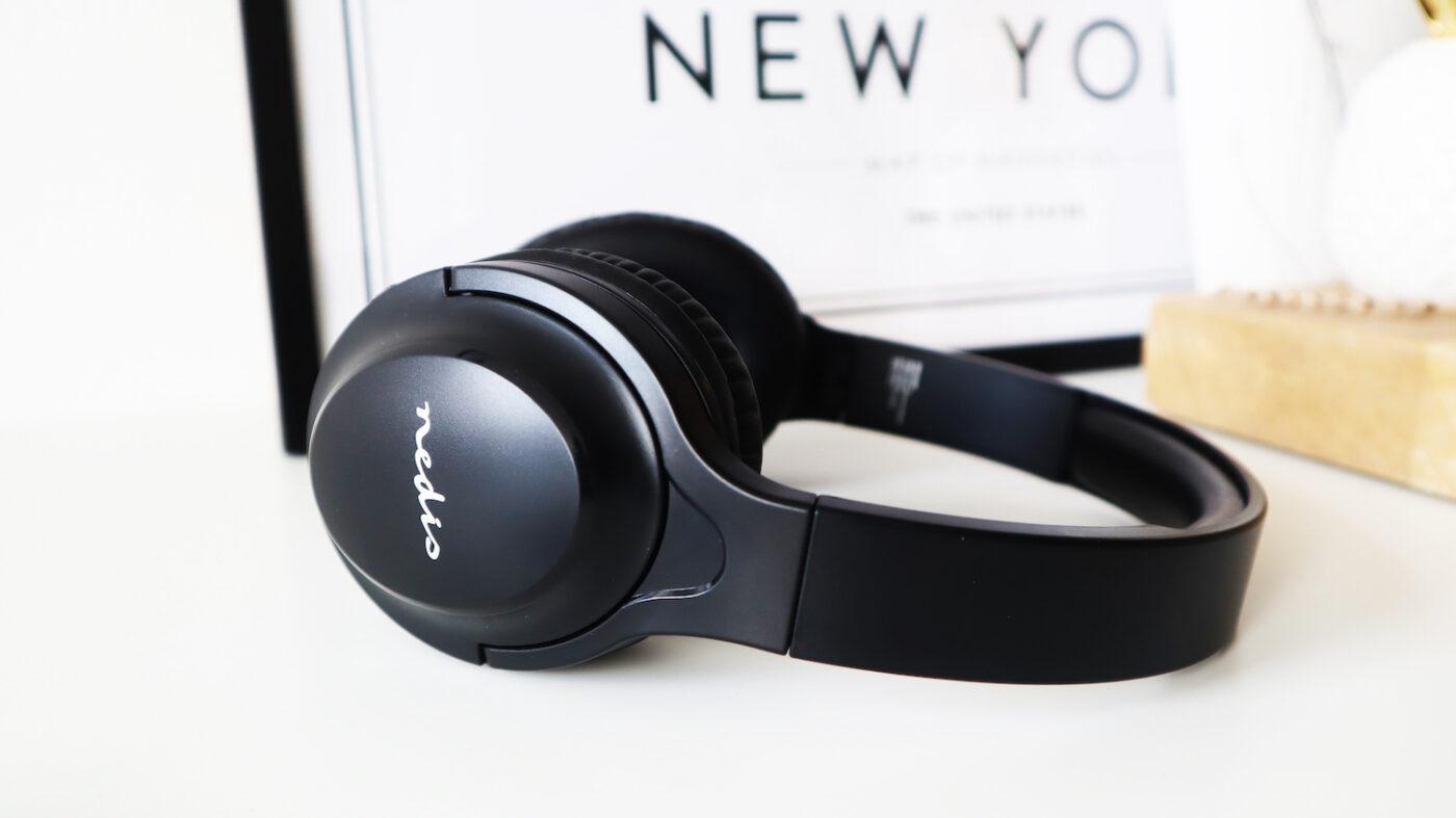 Nedis draadloze over-ear koptelefoon